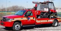 AB American Fire Deprt Trucks (01) / American FD Light & First Response Units.