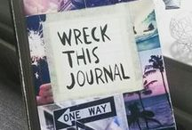 ✄Wreck this journal