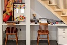 Living Smaller  - Saving Space / Creative uses of different spaces.