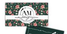 AMdesign - business cards / Atunci cand papetaria pentru evenimente este gata, ne bucurăm sa cream materiale de branding design pentru diverse proiecte.