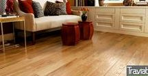 Luxury Vinyl Flooring / An inspiration for different flooring designs that one can install in their home.