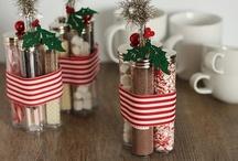 Crafty~ DIY Gifts / Gift Ideas. / by Amanda Clark