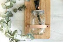 DIY Ideen / lovely handmade projects inspiration DIY