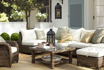 outdoor spaces / by Sharon Cleland