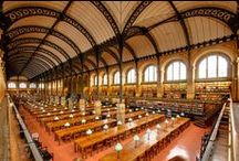 Libraries & Bookstores / A collection of stunning libraries and bookstores. A book lovers dream.  #library #bookstore