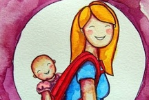 Parenting~Hippie Mamma  / Baby wearing, cloth diapering, attachment parenting, baby lead weaning, breast feeding, ya know, awesome stuff!  / by Amanda Clark