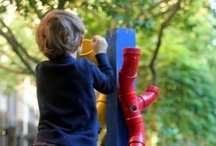 Kids~We Play Outside / My outdoors daycare lust list, things I want to build outside, and super fun outdoor activities.  / by Amanda Clark