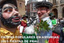 Fiestas en Asturias / La fiesta no para, verbenas, romerías, mercados, ferias...
