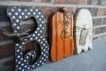 Crafts- Halloween / by Amy Baird Lynch