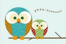 Printables-Owls / by Amy Baird Lynch
