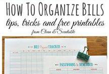 Tips for Home / Organización del Hogar