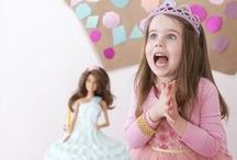 Princess Party / If your little darling wears a tiara around the house and wishes on every star, it may be time to throw her a majestic princess birthday party.