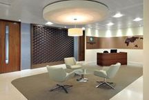 Office Receptions / Your office reception is your face to the world; a space to showcase who you are and what's important to your business. Take a look to see how these companies have created office receptions with impact.
