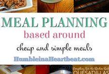 Meal Planner Ideas / Ideas Menú Semanal