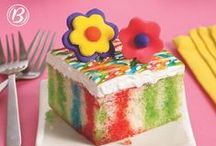 Grown-Up Birthdays / Cakes and sweets for the more refined birthday -- never fear if you're a kid at heart! We have a board for that too: http://www.pinterest.com/bettycrocker/kid-birthdays/