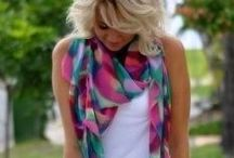 Scarves / stunning scarves - various colours, styles, designs, fabrics