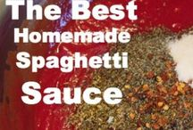 Appetizers and dips and sauces / Dips, sauces, appetizers, dressings--all kinds of recipes