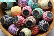 Devine Twine / Twine. Rope. String. Yarn.