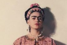 Frida / Frida Research / by The Woodsfolk & Down To The Woods