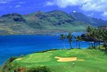 Golf dreams / Places Henry and I can dream about