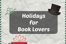 Christmas for Book Lovers / Christmas ideas for your bookish friends and family members! Here are craft ideas, recipes, and book recommendations for the best Christmas yet!