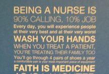 Future Nurse, 2018! / by Evangeline Meadows