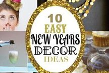 New Years for Book Lovers / New Years ideas for your bookish friends and family members! Here are craft ideas, recipes, and book recommendations for the best New Years yet!