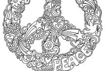 Colour me relaxed / Mandalas and other cool things to colour!