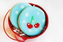 Desserts : Decorated cookies