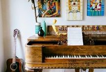 Music Rooms / Because when I have a big girl job I know right now the majority of my paycheck will go towards music.