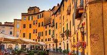 Reise Tip: Toskana / Was muss man unbedingt in der Toskana sehen. Städte wie Verona, Lucca, Volterra, Florenz und natürlich jede Menge Restaurants Cafés und Museen