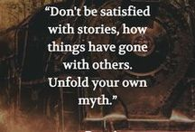 Book & Other Great Quotes / Here are some of my favorite quotes from books and inspirational people. <3 - Kate Tilton, Connecting Authors & Readers