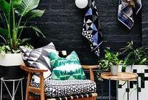 Balkon und Garten / Mach deinen Balkon schöner. Tipps und Inspiration rund um Balkon Einrichtungen Garten Lounge Inspiration