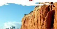 Algarve Felsalgarve / Der Innbegriff der Algarve: Von Felsen umgebene kleine Sandbuchten. Steil ins Meer fallenden Klippen. Türkisblaues Wasser. Idyllische Strände.