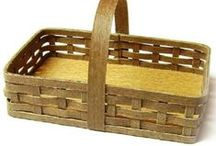 tutorials: baskets & boxes / tutorials for miniature baskets and boxes