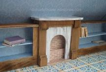 tutorials: bookcases / Tutorials for miniature bookcases, magazine racks, and bookshelves
