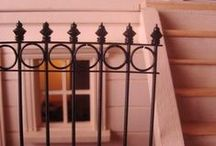 tutorials: construction (railings & wrought iron) / Tutorials for miniature railings, and faux wrought iron projects
