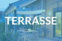Terrasse / Ein gemütlicher Platz zum Essen, sitzen, reden und genießen: Die Terrasse ist nicht weniger als Wohn- und Esszimmer - nur draußen. Auf dieser Pinnwand findet ihr tolle Ideen für die Gestaltung.
