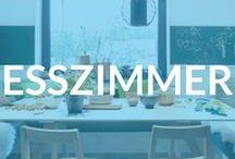 Esszimmer-Ideen / Ein Zimmer, ein Saal, Teil der offenen Küche oder schlicht: der Familienesstisch - im Esszimmer wird nicht bloß gespeist; es ist einer der wenigen Orte, an denen es darum geht, sich zu unterhalten und miteinander zu sein.