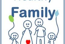 Healthy Family / A healthy family is a happy family. Family fun. Activities. Health. Fitness. Home. Family relationships. Lifestyle. Healthy living. Healthy life. Healthy family.