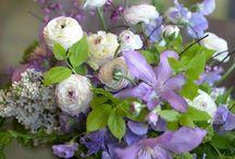 Lilac Flower arrangements