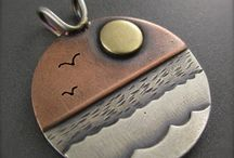 Jewellery - Pendants (scenic) / Pendants and necklaces featuring landscapes and seascapes