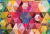 Quilty Goodness / Samples of beautiful quilts. / by Shiny Happy World