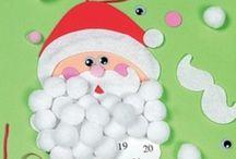 Fete de noel et d'hiver / christmas winter Noël hiver craft kids / by Melanie Brulotte