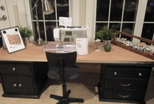 Creative Sewing Room Ideas / for my favorite room in my house / by 'Valarie' Phillips