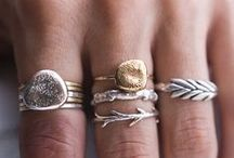 • OH ~ I LOVE ❤ RINGS • / The title says it all! I love rings! If I had to choose only one accessory to express myself it would be rings! #rings #accessories / by Beverly of MiZen Designs