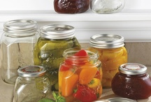 CHEF'S TOOLS: Canning & Preserving  / Canning jars are all basically the same: glass jar + flat metal lid w/ seal + metal screw-on ring. ***This is the only style of canning jar recommended as safe & reliable by the USDA.***  / by KansasKate