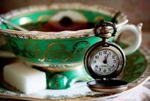 Tea Time  / High tea, china, tea sets, all things tea....  / by Carolyn Harris