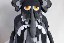 Monsters and Weird Things / Art, illustration and craft featuring monsters and weird things.