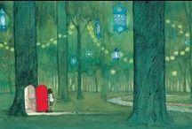 Illustrationer för barnbok